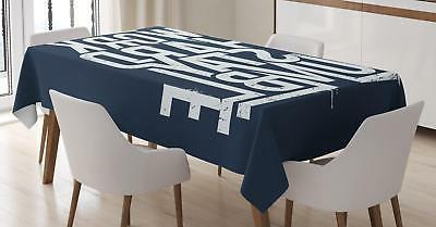 inspirational tablecloth 3 sizes rectangular table cover
