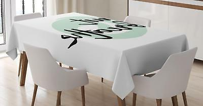 just breathe tablecloth 3 sizes rectangular table