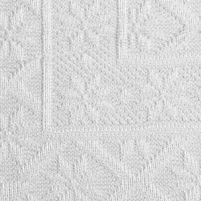 Lace Table Cover Tablecloth Wedding, 56 Inches, White