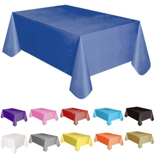 Large <font><b>Plastic</b></font> Rectangle Cover Clean Party 137x183cm