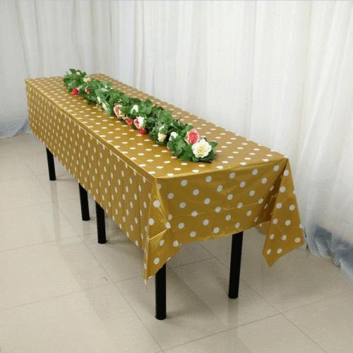 Large Plastic Rectangle Cover Cloth Party Covers