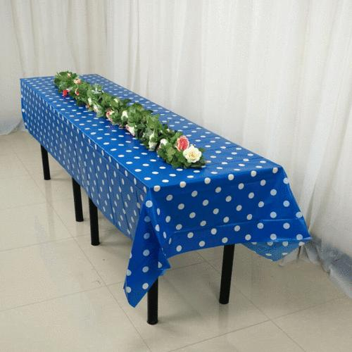 Large Plastic Cover Party Tablecloth Covers