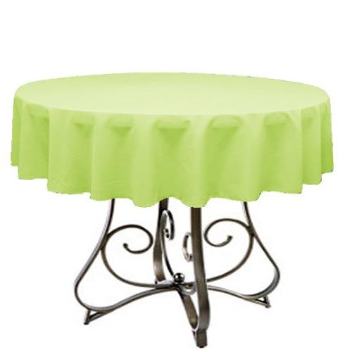 lime tablecloth round