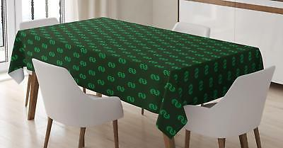 money tablecloth 3 sizes rectangular table cover