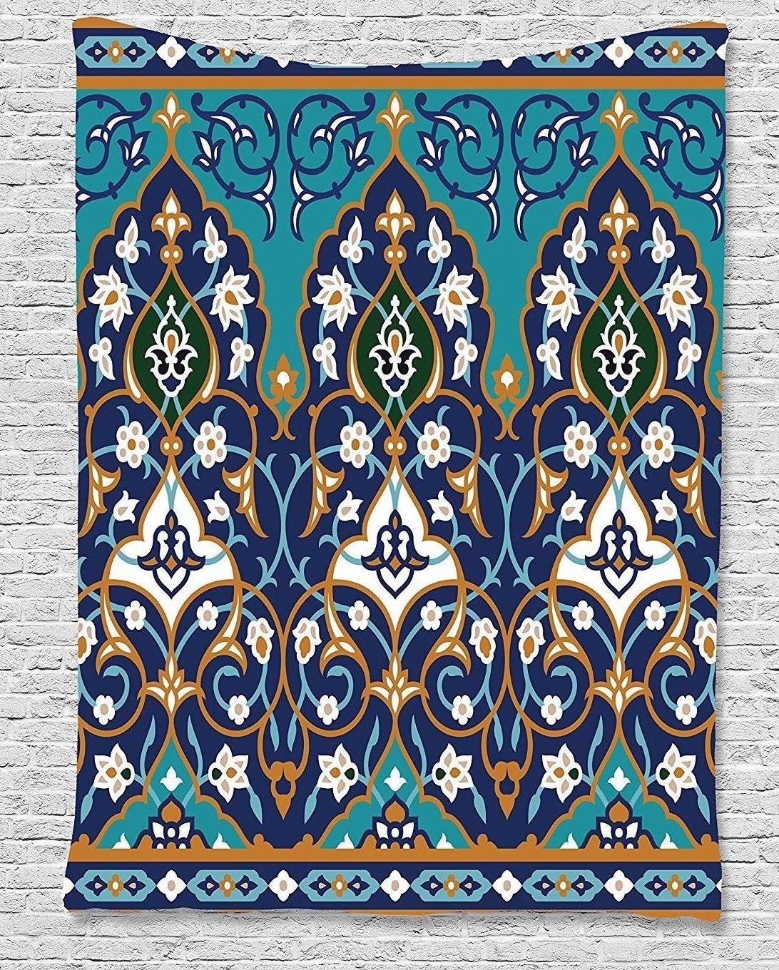 Ambesonne Tapestry Hanging Blue