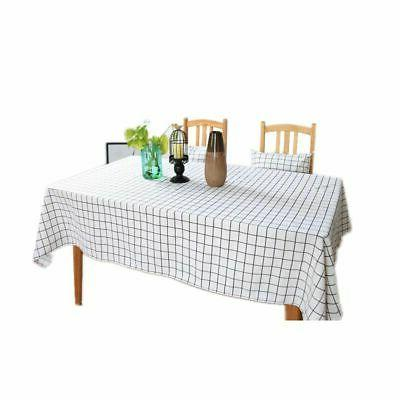 Multi Sizes Tablecloth Kitchen Table