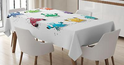 nautical tablecloth 3 sizes rectangular table cover