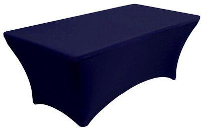 navy blue rectangular fitted stretch