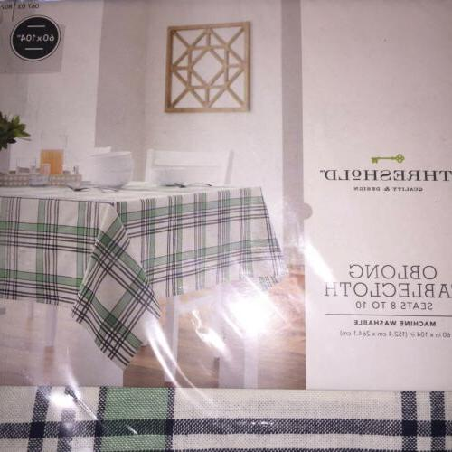 NEW~ Tablecloth Fabric Table 60x104 Spring Green