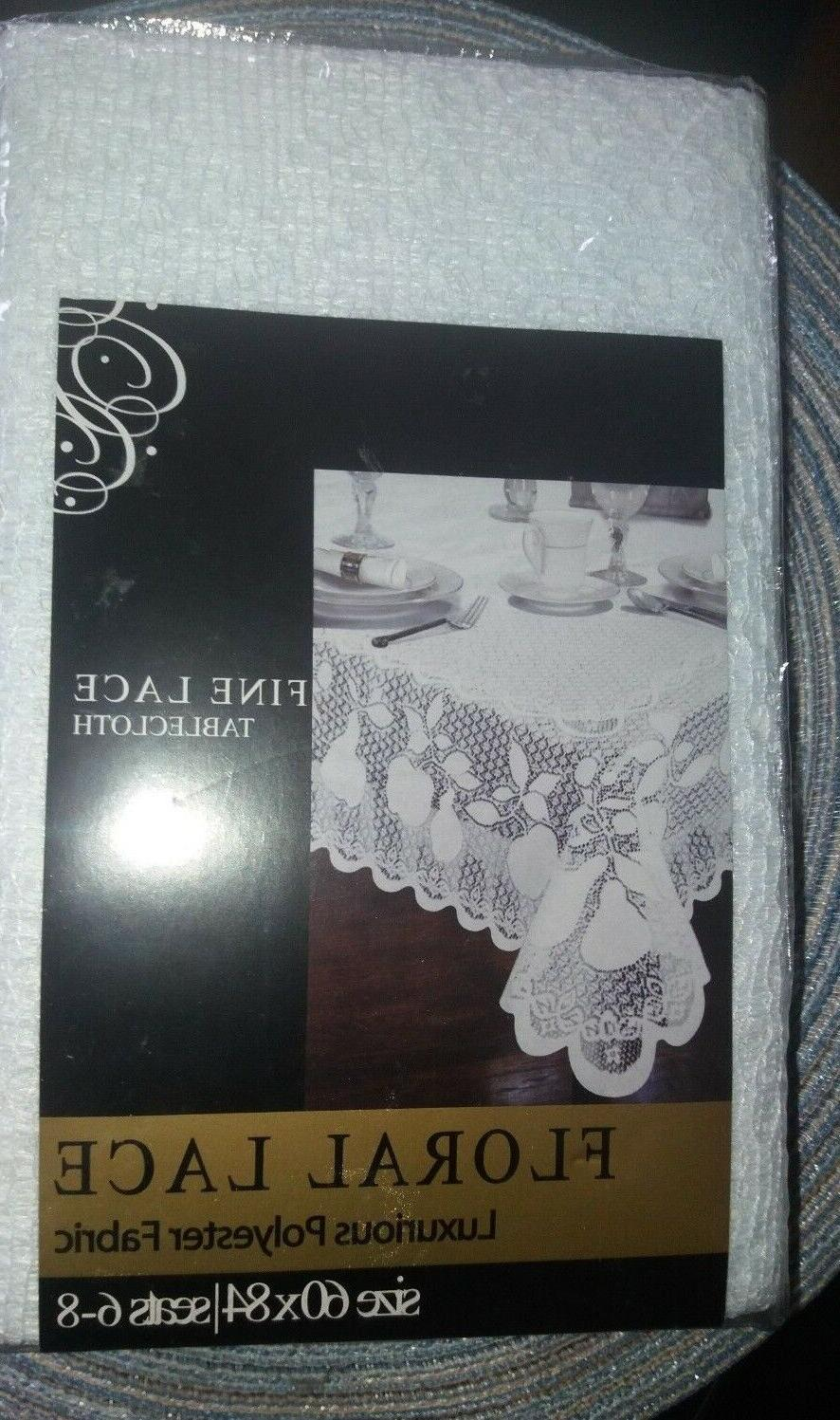 NEW Lace FABRIC Linens 60 x