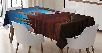 northwestern tablecloth 3 sizes rectangular table cover