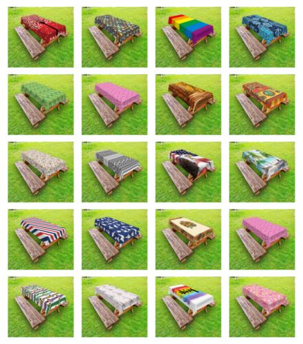 Outdoor Picnic Ambesonne Sizes