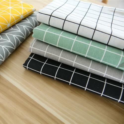 Table Cotton Rectangular Waterproof Oilproof for Kitchen