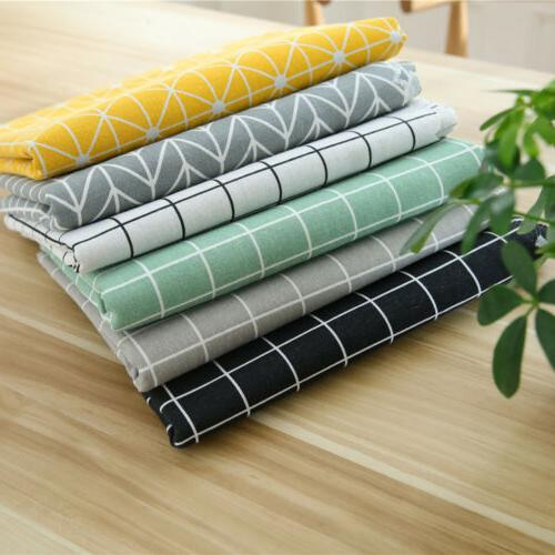 Table Cotton Rectangular Waterproof Oilproof Tablecloth for