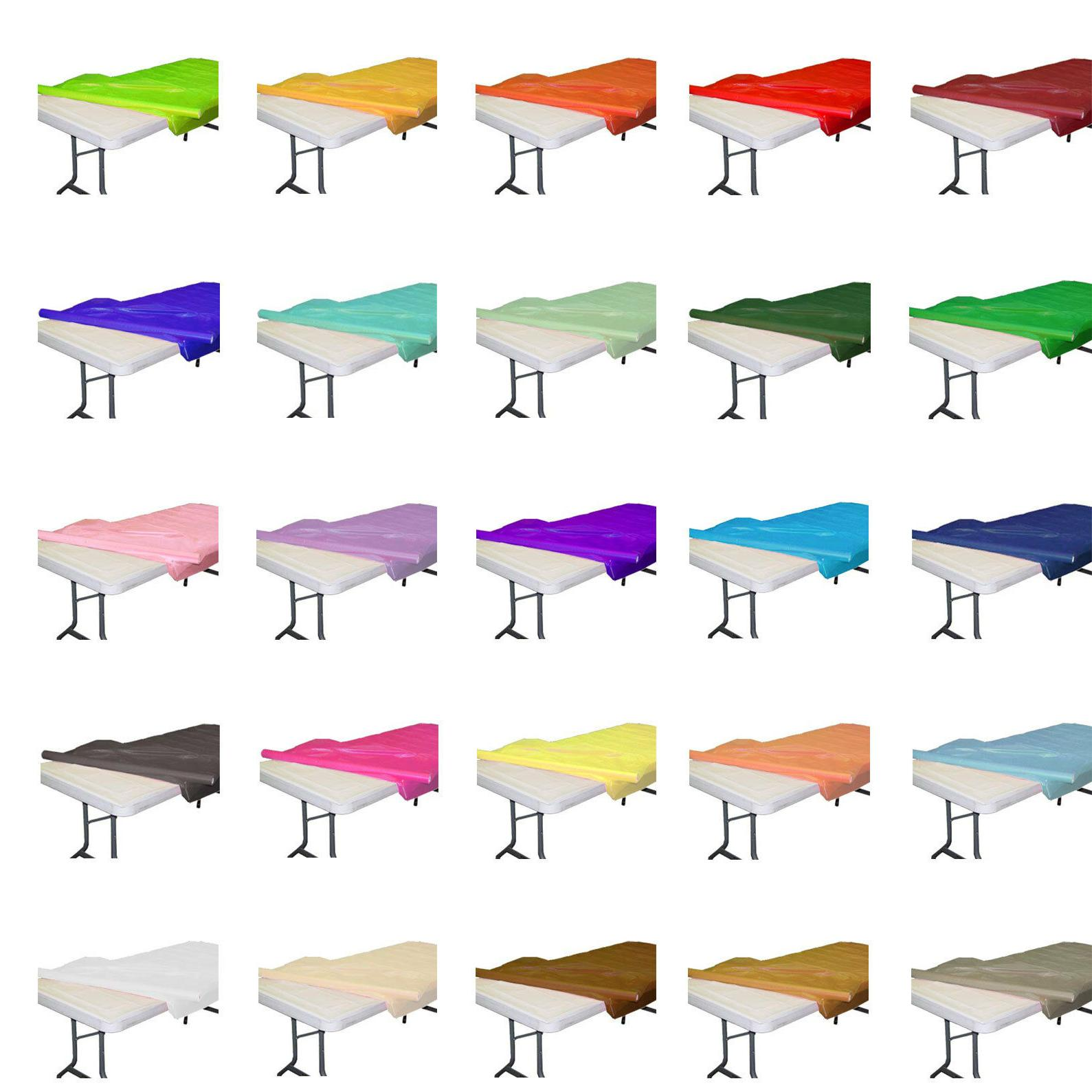 plastic banquet party table cover roll 40