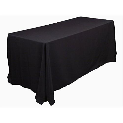 "Gee Di Moda Tablecloth 132"" Rectangular Cloth 6 Foot Washable - Great for Table, Holiday More"
