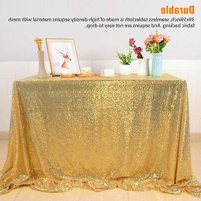 Rectangle Sequin Sparkly Table Wedding US