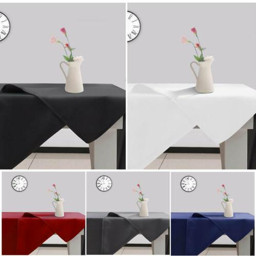 rectangle table cloth water resistance microfiber decorative