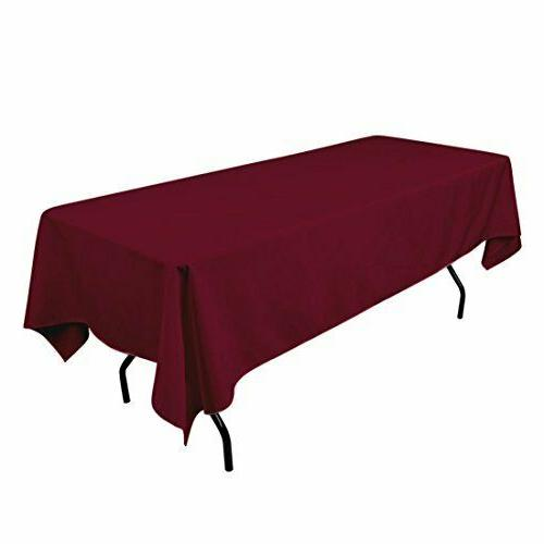 Rectangle Cloth Home Plain 60 Inch