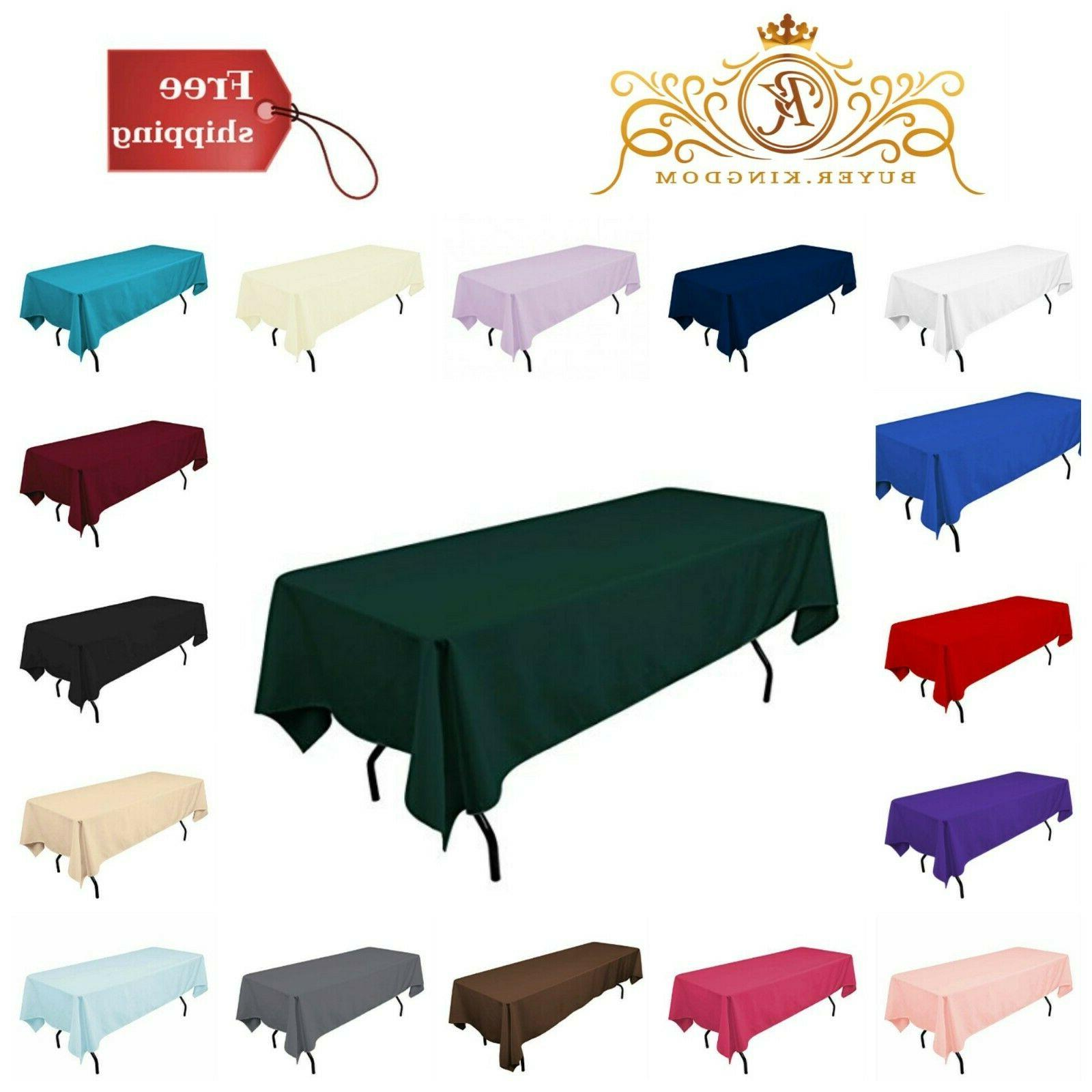 rectangle table cover cloth home party decoration