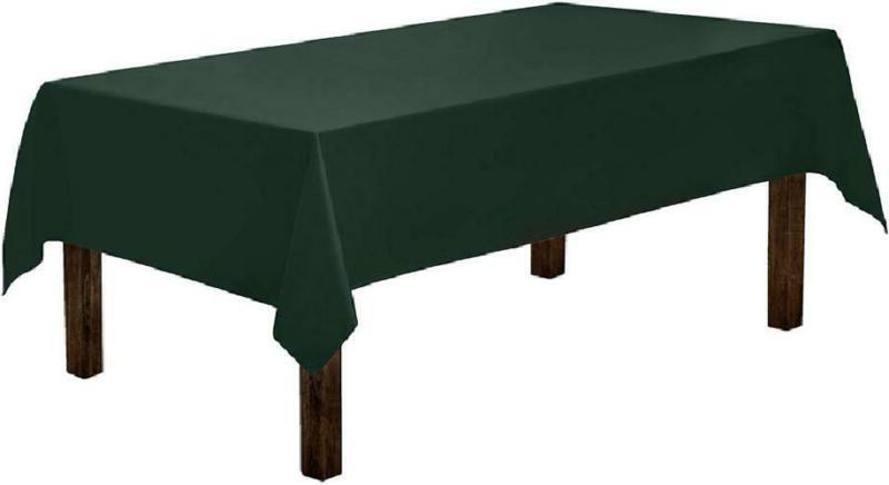 rectangle tablecloth 60 x 84 inch hunter