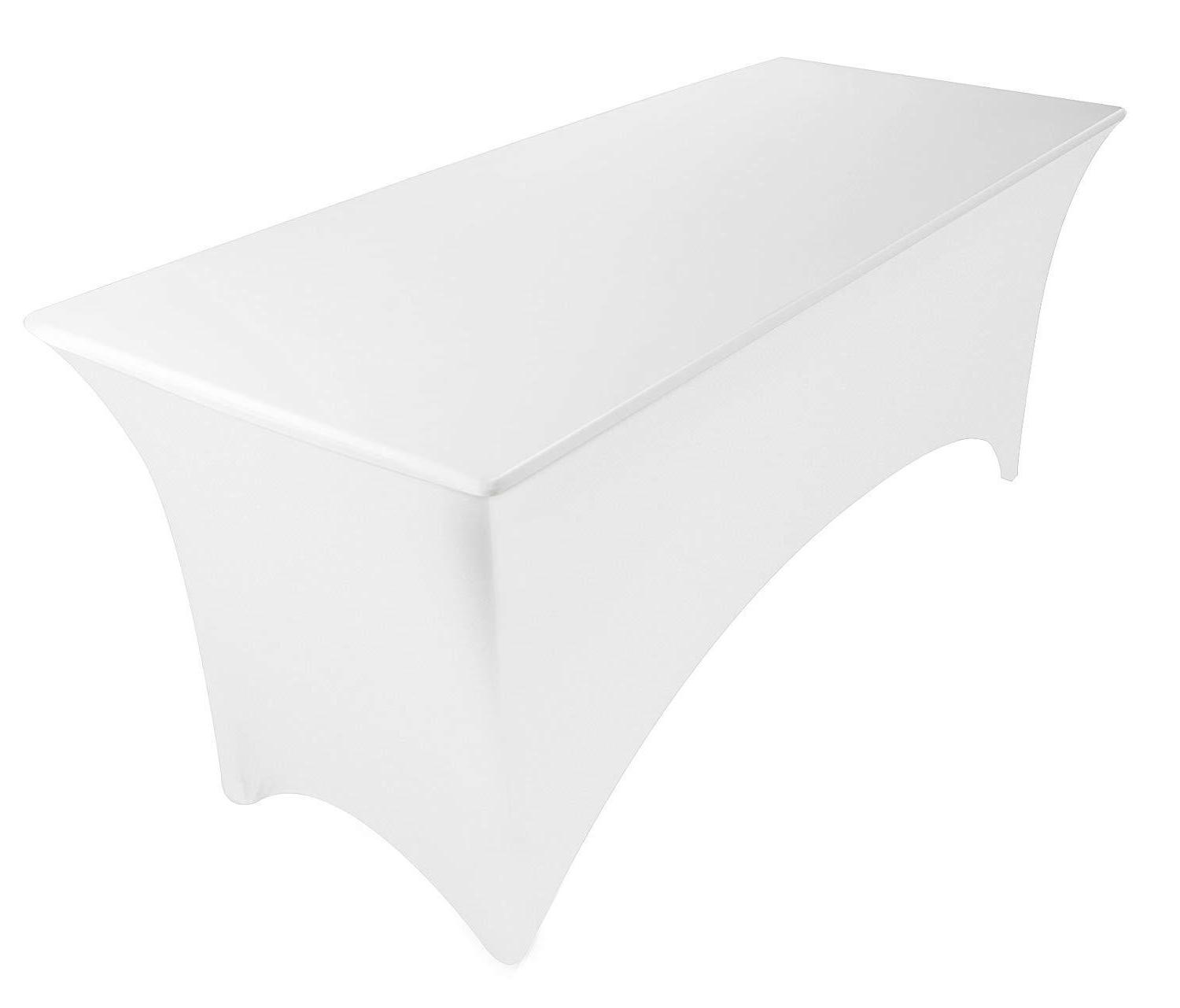 Utopia Tablecloth 6ft Spandex Fit Table Cover