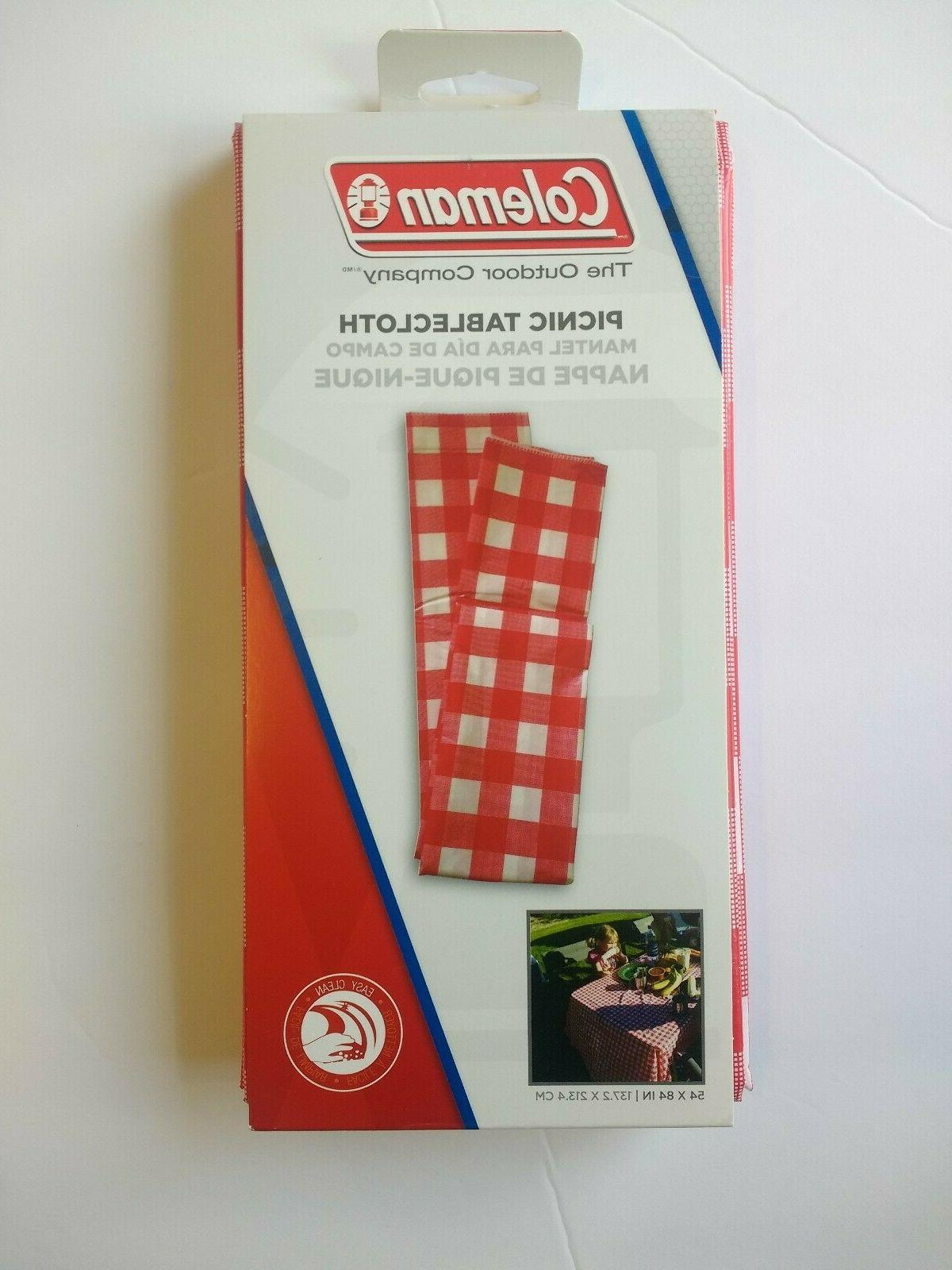 """Red/White 54"""" 84"""" Camping Outdoor New!"""