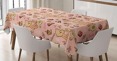 retro drawing tablecloth by 3 sizes rectangular