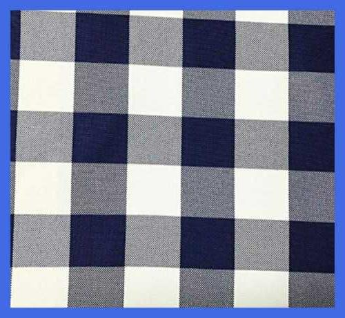 round check polyester tablecloth royal blue
