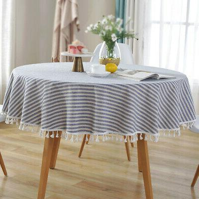 Cotton Round Tassel Kitchen Cloth