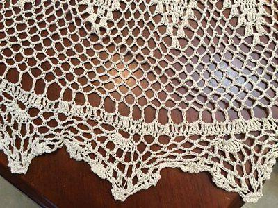 Round Lace Tablecloth % COTTON