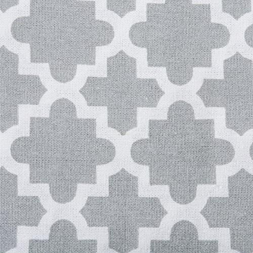 DII Round Tablecloth Summer Parties Use - Gray
