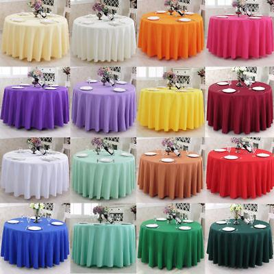 round tablecloth table cover kitchen dinning wedding