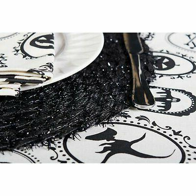 DII Round Woven Placemat - of 6