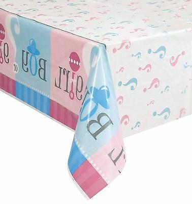 "54""x108"" Or Girl Baby Shower Party Table"
