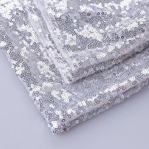 GFCC 90x132'' Sequin Tablecloth Christmas Table Banquet Christmas Supplies