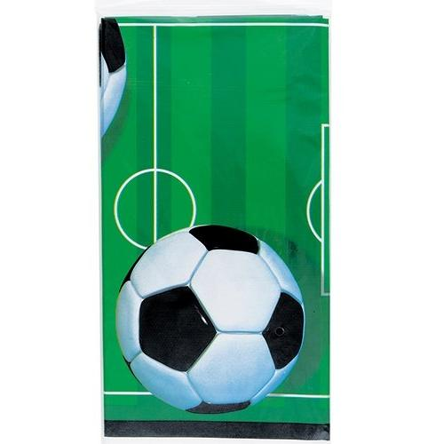 soccer party plastic tablecloth