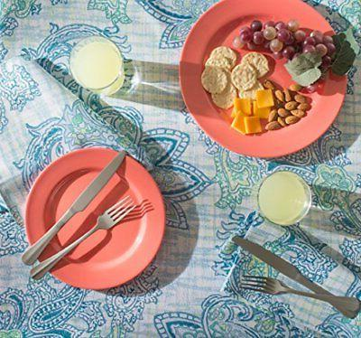 DII Spring Tablecloth, Proof and Waterproof Outdoor Indoo