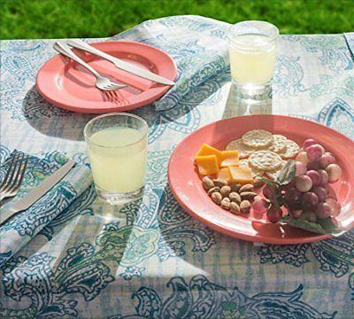 DII Tablecloth, Waterproof for Outdoor Indoo