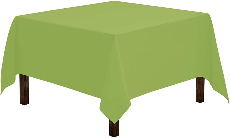 square tablecloth 52 x 52 inch apple