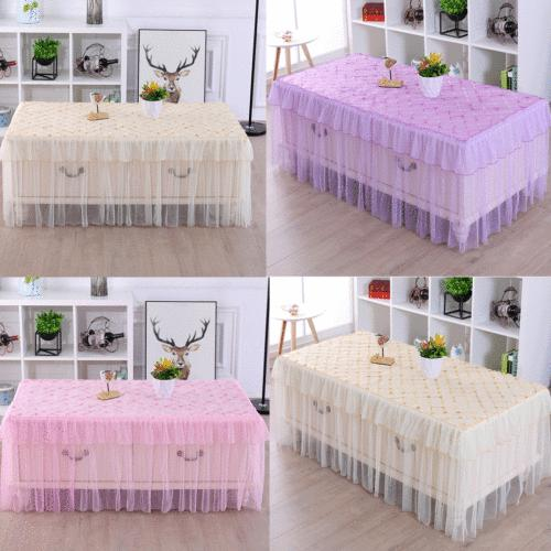square tablecloth table cover kitchen dinning wedding