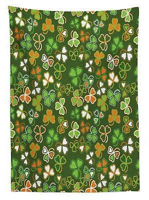 St. Patrick's Day Ambesonne Rectangular Table Cover