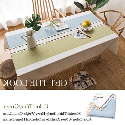 ColorBird Heavy Dust-Proof Table Cover for Kitchen Dinning