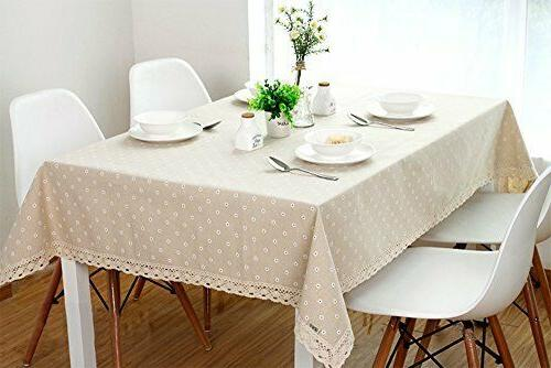 LINENLUX Table Cover Kitchen Dinning x 86