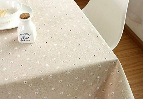 LINENLUX Stylish Rectangular Table Cover Kitchen Dinning x