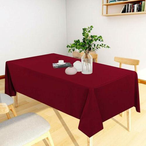 Table Spill-Proof Resistance Dining