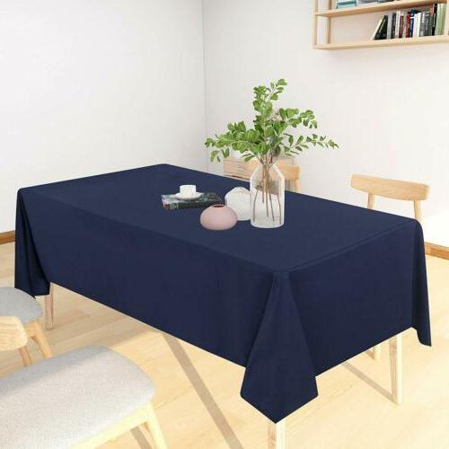Table Cloth Resistance Tablecloth Kitchen Dining
