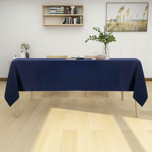 Table Spill-Proof Resistance Oil-Proof Dining