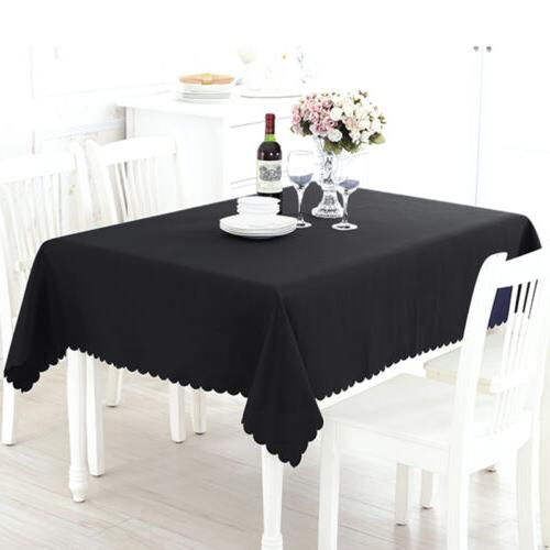 Table Tablecloth Blend