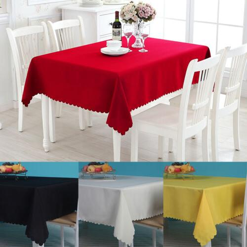 table cover cloth party tablecloth rectangle theme